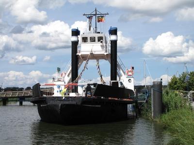 Eisenbahnfähre Stralsund Wolgast