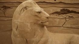 Sandskulpturen Festival Usedom - Afrika