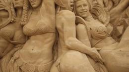 Sandskulpturen Festival Usedom - Brasilien